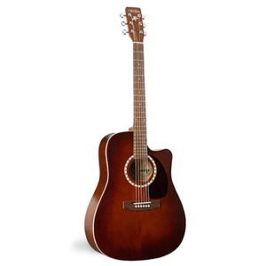 art&lutherie dreadnought cedar antique burst guitare acoustique