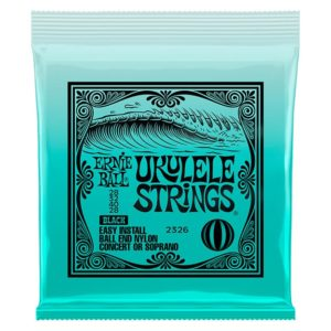 Jeu de cordes Ernie Ball 2026 Ukulele strings