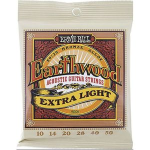 Jeu de cordes Ernie Ball Earthwood 2006