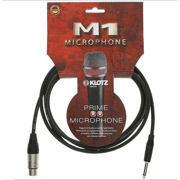 Cable Micro KLlotz M1 Prime Microphone Cable 10m