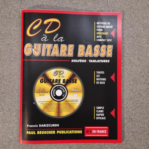 PAUL BEUSCHER CD A LA GUITARE BASSE+CD