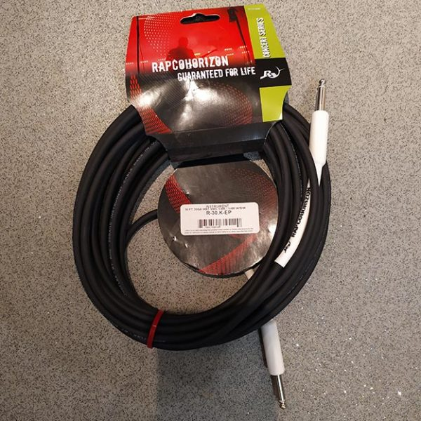 Rapco Horizon Instrument Cable R30KEP