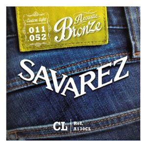Savarez A130CL Acoustic bronze 11 52 jeu de cordes guitare acoustique
