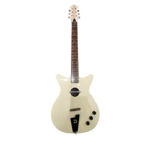 Danelectro guitare convertible cream