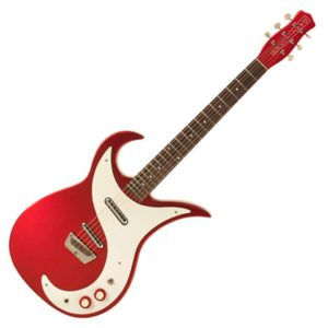 Danelectro Guitare wild thing rouge