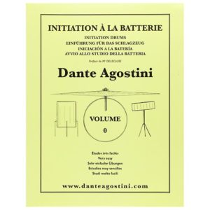 Méthode d'initiation à la batterie Dante Agostini Volume 0
