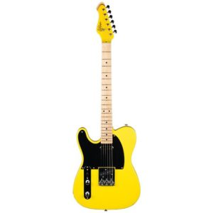 Guitare Revelation RVT Vibrant Yellow Gaucher